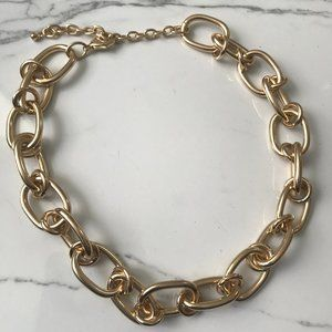 2/$20 Chunky Gold Chain Necklace